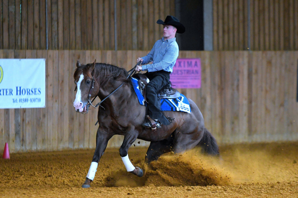 GB's First Para Reining Championships - Bodiam International Arena, East Sussex