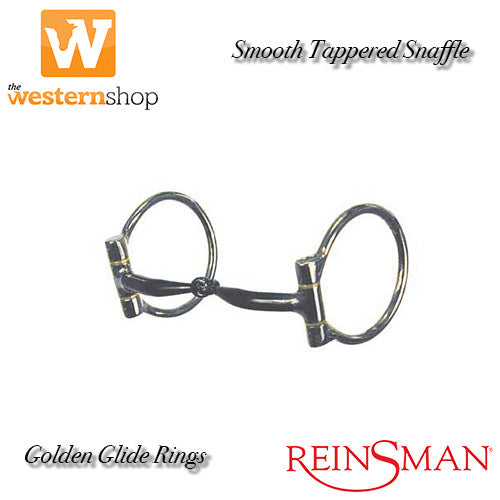 Reinsman Smooth 'Golden Glide' 204 Tapered Sweet Iron Bit