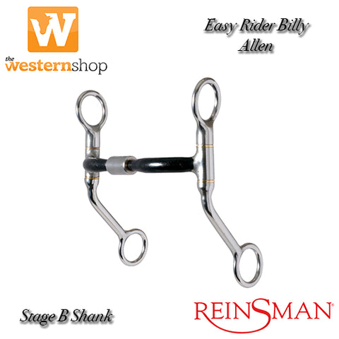 Reinsman 'East Rider' Curved Mouth Billy Allen Shank