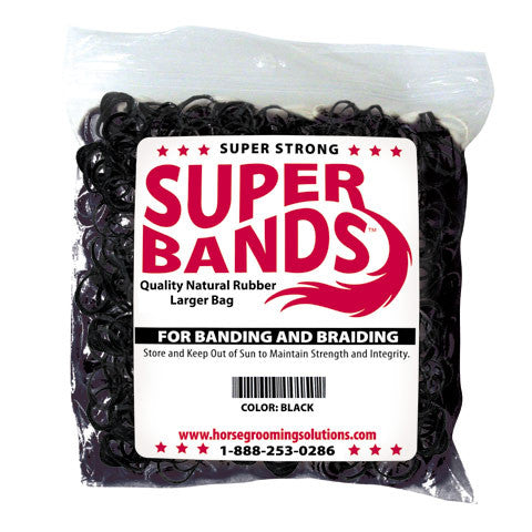 Healthy Hair Care Super Bands - 5 Colours