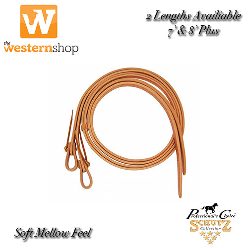 Schutz Brothers Harness Leather Split Reins