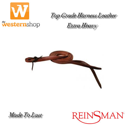 Reinsman Rosewood Harness 'Extra Heavy' Leather Split Reins
