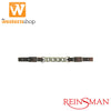 Reinsman Latigo Leather Curb Chain