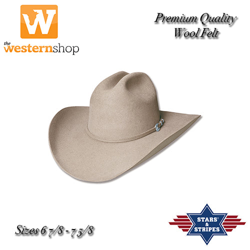 Stars & Stripes 'Appaloosa' Sand Western Hat