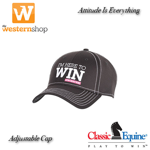 "Classic Equine® ""Here To Win"" Cap"