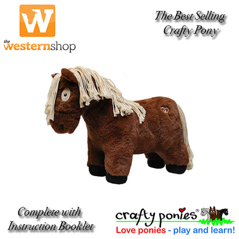 Crafty Ponies Plush Pony & Instruction Booklet