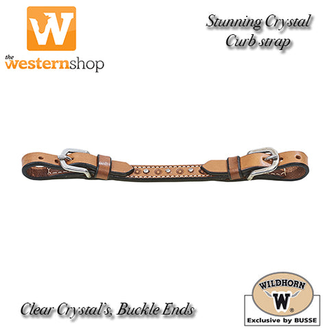 Wildhorn Crystal Curb Strap