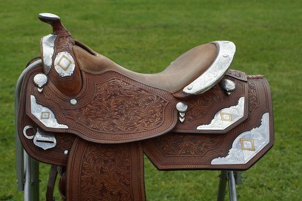 Dale Chavez Equitation Pleasure Saddle