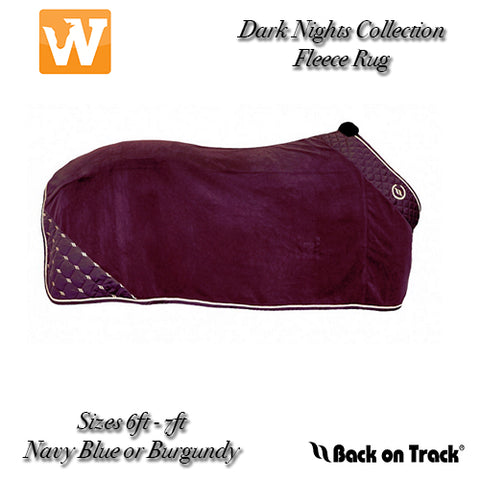 Back On Track® 'Dark Nights' Collection Fleece Rug