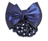 SD Design Swarovski® Crystal Hair Bow & Net