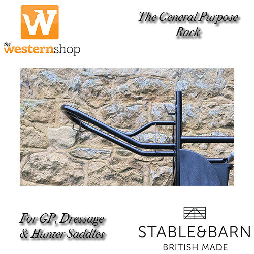 Stable & Barn - The General Purpose Saddle Rack