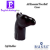 Horse Head Towball Cover Black
