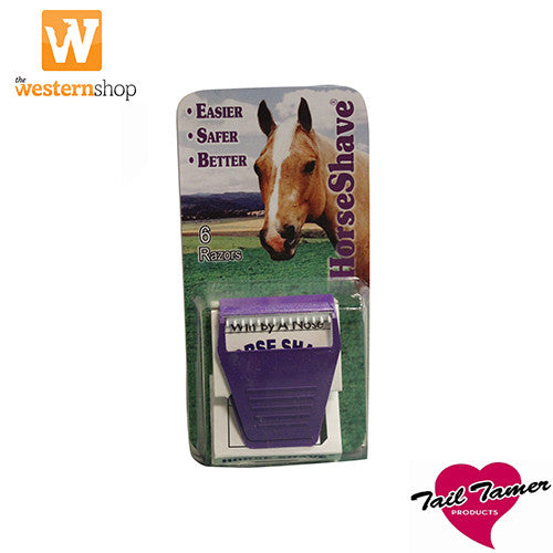 Tail Tamer Horse Shave 6 Pack