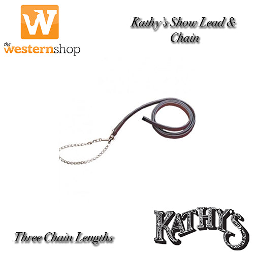 Kathy's Show Equipment Show Lead & Chain