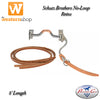 Schutz Brothers No-Loop Harness Leather Reins - 8' Length