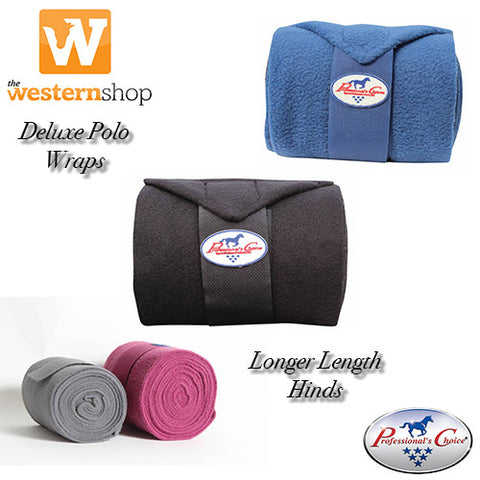 Professional's Choice Deluxe Polo Wrap - Longer Length Hind Wraps