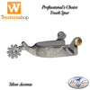 Professional's Choice Silver Youth Spur