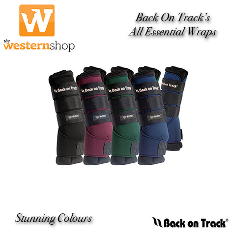 Back on Track® Equine Quick Wraps - Black Availiable - Colours to Pre Order