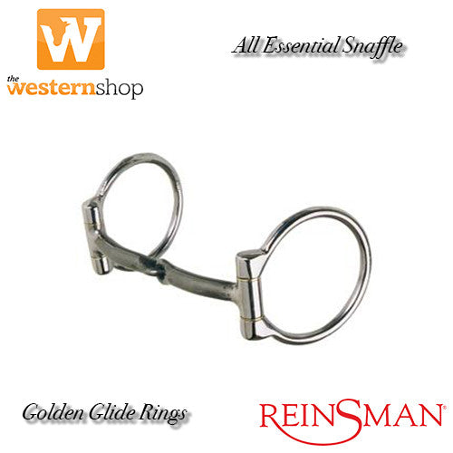 Reinsman 'Golden Glide' 203 Smooth Sweet Iron Snaffle