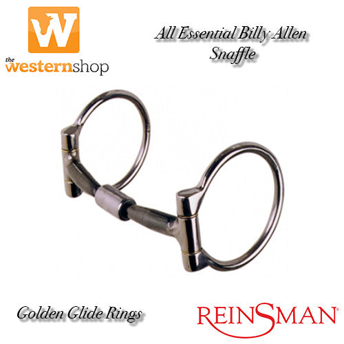 Reinsman 'Golden Glide' 292 Billy Allen Snaffle