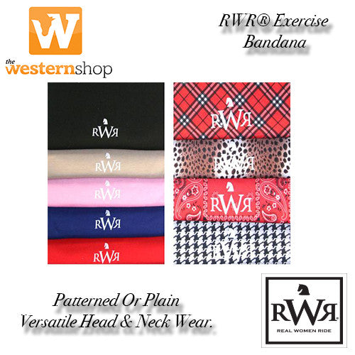 Real Women Ride® No Knot Exercise Bandana