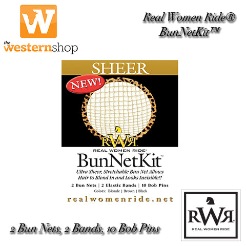 Real Women Ride™ Bun Net Kit