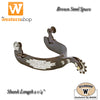 Wildhorn Brown Steel 'Rancher' Spur