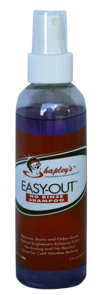 Shapley's 'Easy Out' No Rinse Shampoo