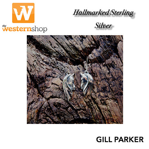 Gill Parker 'Twin Heads' Earrings