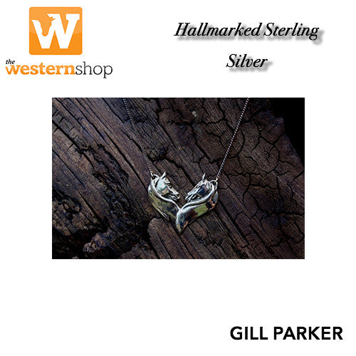 Gill Parker 'Twin Heads' Necklace