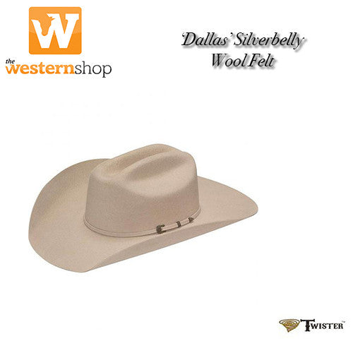 Twister  Dallas  Western Hat - Silverbelly – The Western Shop 6afde2d6394