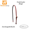 Cattleman's Tooled Leather Bosal Hanger