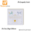 Whistlefish Pet Sympathy Cards