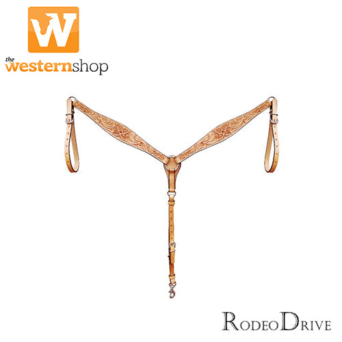 Rodeo Drive Wide Floral Breast Collar