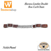 Wildhorn Harness Leather Double Row Curbchain