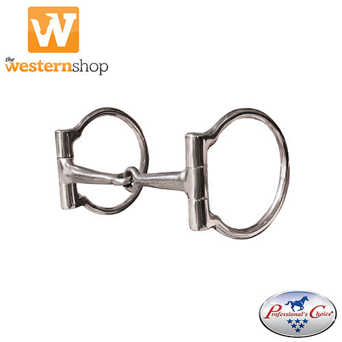 Professional's Choice Equisential D Ring Snaffle