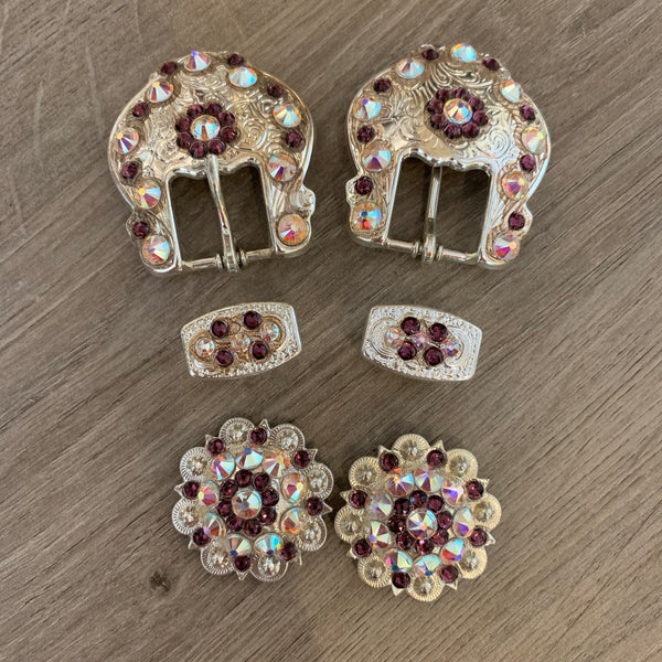 Rodeo Drive Swarovski Crystal Buckle Sets
