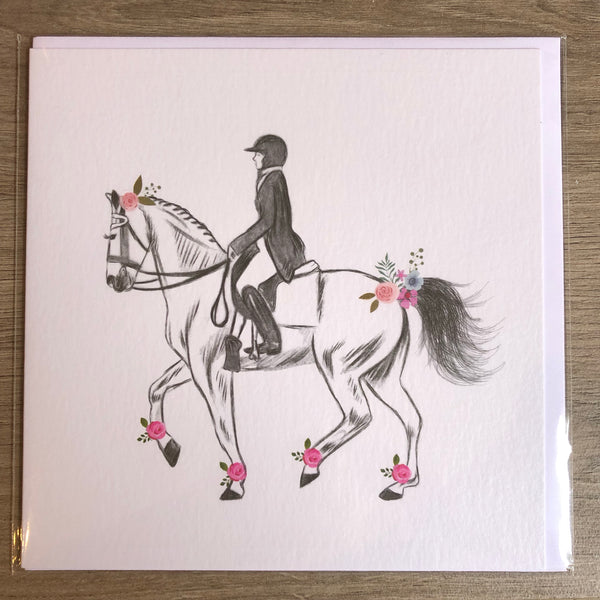 Whistlefish Floral English Equestrian Cards