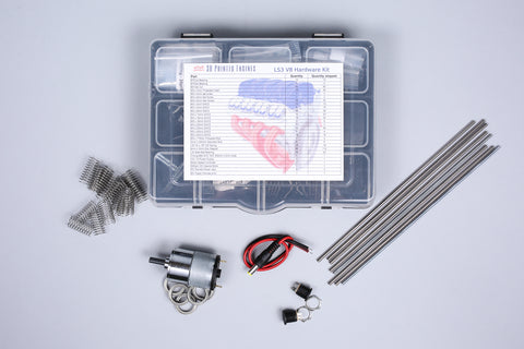 V8 Engine Model - Hardware Kit