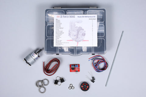 Rotary Engine Model Kit - Hardware Kit