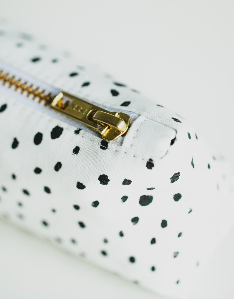 Dalmation Print Pencil Case