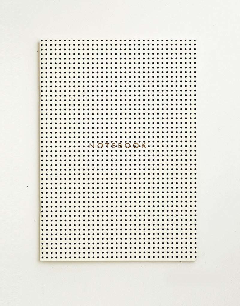 Mini Polkadot Monochrome Notebook