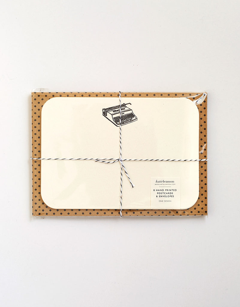 Typewriter Notecards