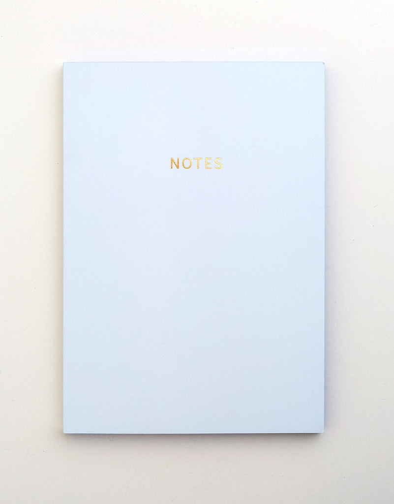 Pale Blue Notebook A5