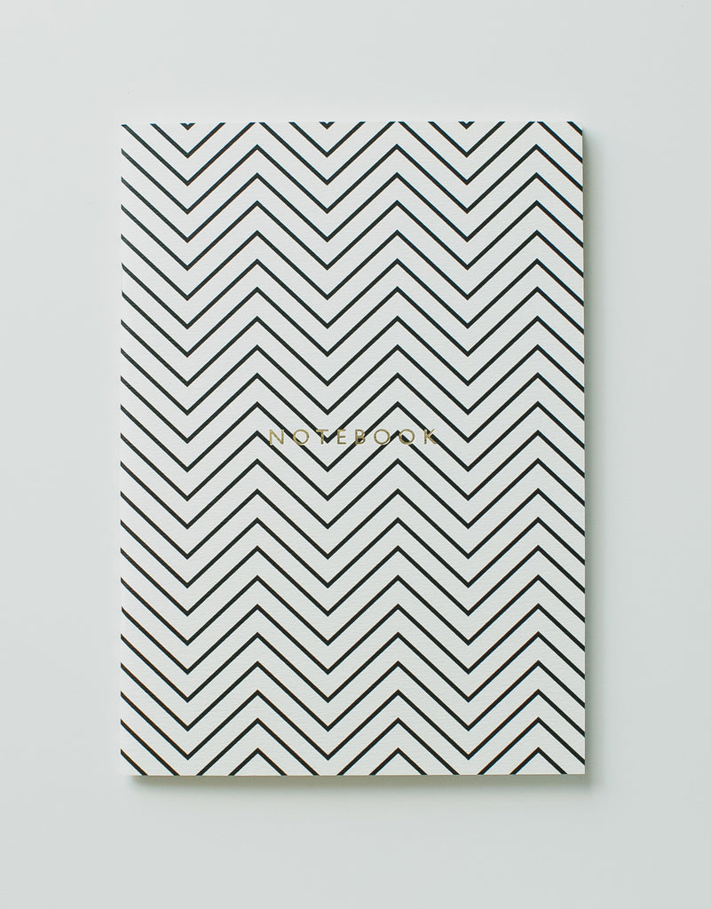 Zigzag Monochrome Notebook