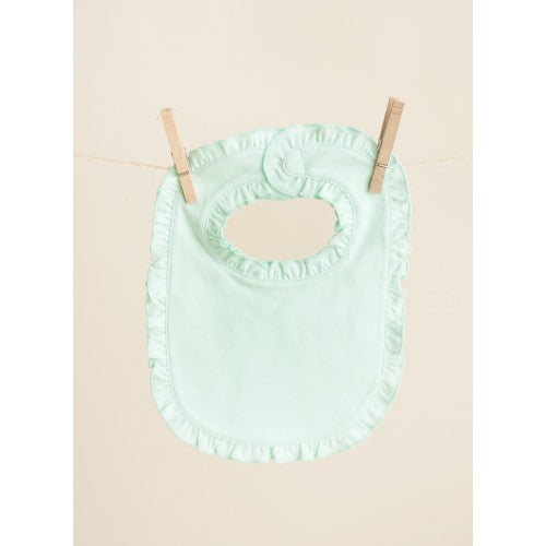 Personalized Ruffled Bibs - 5 Colors - Ciao Bella Boutique