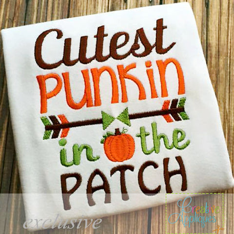 Cutest Punkin in the Patch Shirt - Ciao Bella Boutique