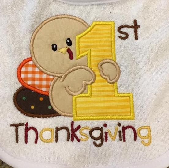 First Thanksgiving Shirt - Ciao Bella Boutique
