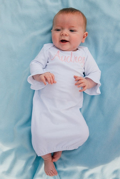Infant Ruffled Gowns - 2 Colors - Ciao Bella Boutique