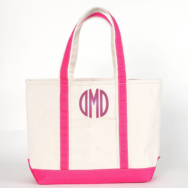 Medium Boat Tote - 14 Different Color Options - Ciao Bella Boutique